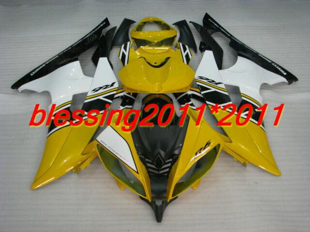 Fairing For Yamaha Yzf R6 2008-2013 Abs Plastic Injection Mold Fairing Set B38
