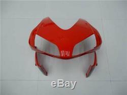 Fairing Injection Mold Plastic Red Black Fit for Honda 2003-2004 CBR600RR e010