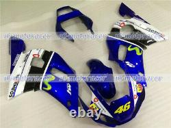 Fairing Kit Fit for Yamaha YZF R6 1998-2002 Injection Mold Plastic Set Body Work