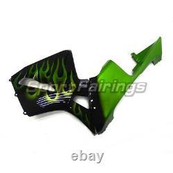 Fairing Kit For Honda 2003-2004 CBR600RR F5 Injection Black Green Plastic Mold