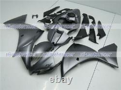 Fairing Matte Grey Injection Mold ABS Plastic Fit for 2012 2013 2014 YZF R1 a#08
