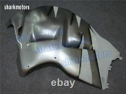 Fairing Set Fit for 1997-2007 GSXR 1300 Injection Mold Plastic White Silver aC8
