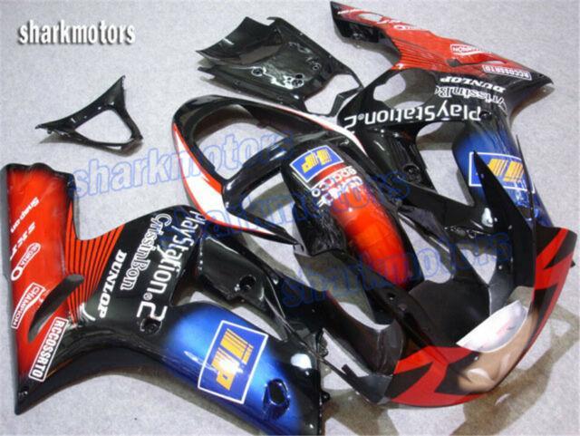 Fairing Set Fit For Ninja 636 Zx6r 2003-2004 Injection Mold Abs Plastics Xb3