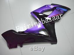 Fit for 2005 2006 GSXR1000 Purple Black ABS Plastic Injection Mold Fairing Kit