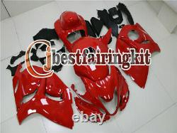 Fit for 2008-2019 GSXR 1300 Red Plastic Mold Bodywork Injection Fairing Kit a#10