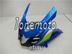 Fit for 2009-2016 GSXR 1000 K9 Blue Plastic ABS Injection Mold Set Fairing #Av
