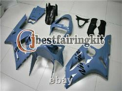 Fit for Kawasaki 2003-2004 ZX6R 636 Plastics Set Injection mold Fairing ABS a#01