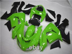 Fit for Kawasaki Green ABS Plastic Fairing 2006 2007 ZX10R Injection Mold d007A