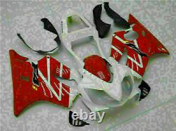 Fit for Red White Injection Mold Plastic Fairing HONDA 2001-03 CBR 600 F4i d060