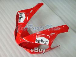Fit for Yamaha 2000 2001 YZF R1 Red White Injection Molding Plastic Fairing y08