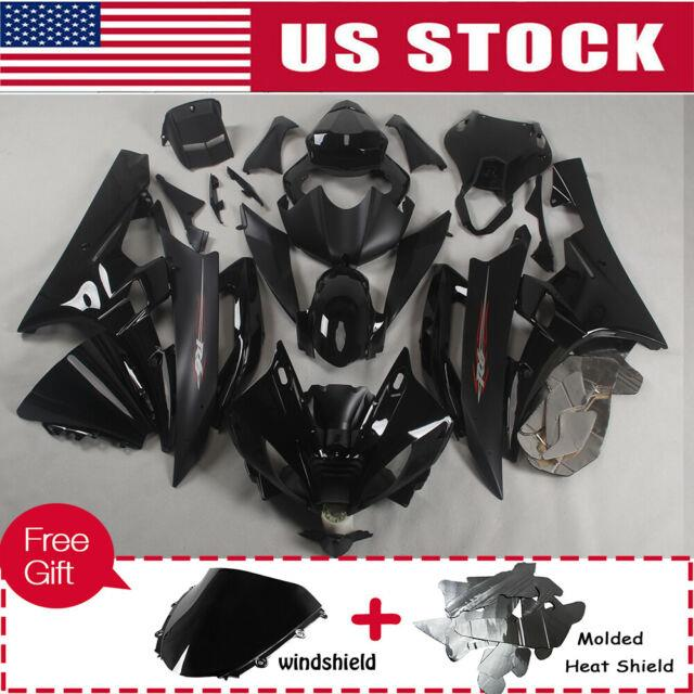 Fit For Yamaha Yzf R6 2006-2007 Black Fairing Bodywork Injection Mold Plastics