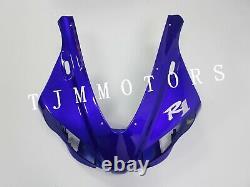 For 1998-1999 YZF R1 Blue White ABS Injection Mold Bodywork Fairing Kit Plastic