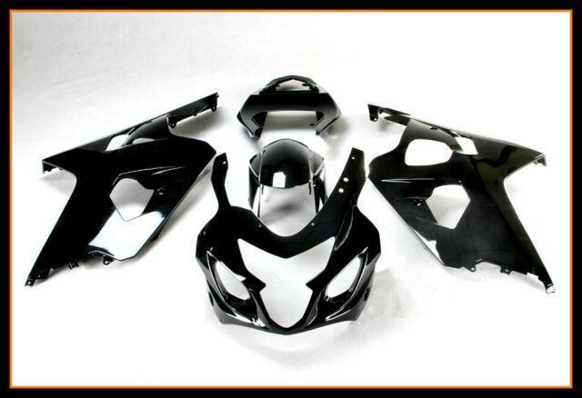 For 2004-05 Gsxr600 750 Abs Plastic Injection Mold Full Fairing Set Bodywork Bk