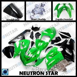 For 2005-06 ZX-6R ZX636 ABS Plastic Injection Mold Full Fairing Set Bodywork P01