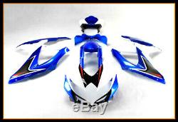 For 2008-10 GSXR600 750 ABS Plastic Injection Mold Full Fairing Set Bodywork P01