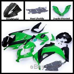 For 2013-17 NINJA300 EX ABS Plastic Injection Mold Full Fairing Set Bodywork P08