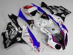 For BMW S1000RR 2009-2014 ABS Injection Mold Bodywork Fairing Plastic White Blue