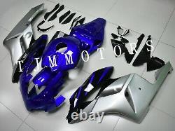 For CBR1000RR 04 05 ABS Injection Mold Bodywork Fairing Plastic Kit Blue Silver