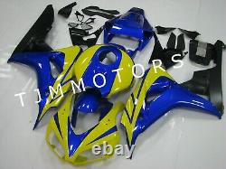 For CBR1000RR 2006 2007 ABS Injection Mold Bodywork Fairing Plastic Yellow Blue
