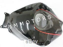 For CBR1000RR 2008-2011 ABS Injection Mold Bodywork Fairing Plastic Kit Red Grey