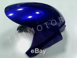 For CBR600RR 05-06 ABS Injection Mold Bodywork Fairing Kit Plastic Black Blue