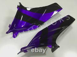 For CBR600RR 05 06 ABS Injection Mold Bodywork Fairing Kit Plastic Purple Silver
