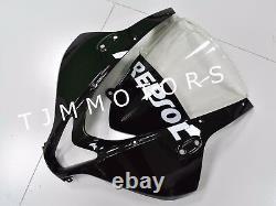 For CBR600RR 07-08 ABS Injection Mold Bodywork Fairing kit Plastic Black Repsol