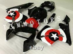 For CBR600RR 2005 2006 ABS Injection Mold Bodywork Fairing Kit Plastic Red White