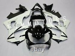 For CBR929RR 00-01 ABS Injection Mold Bodywork Fairing Kit Plastic White Black