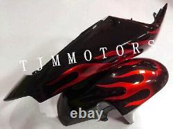 For CBR929RR 2000-2001 ABS Injection Mold Bodywork Fairing Kit Plastic Black Red