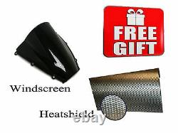 For CBR954RR 02-03 ABS Injection Mold Bodywork Fairing Kit Plastic Black Konica