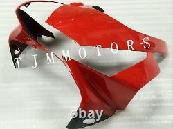 For CBR954RR 2002 2003 ABS Injection Mold Bodywork Fairing Kit Plastic Black Red