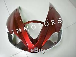 For Daytona 675 06-08 ABS Injection Mold Bodywork Fairing Kit Plastic White Red
