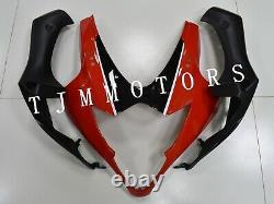 For GSXR1000 2005 2006 ABS Injection Mold Bodywork Fairing Kit Plastic Red Black