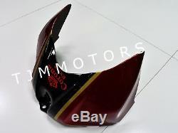 For GSXR1000 2007 2008 ABS Injection Mold Bodywork Fairing Kit Plastic Red White