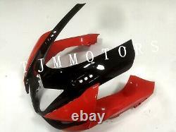 For GSXR600/750 11-17 ABS Injection Mold Bodywork Fairing Kit Plastic Black Red
