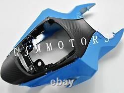 For GSXR600/750 11-17 ABS Injection Mold Bodywork Fairing Kit Plastic Blue Rizla