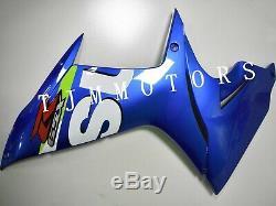 For GSXR600/750 2011-2017 ABS Injection Mold Bodywork Fairing Kit Plastic Blue