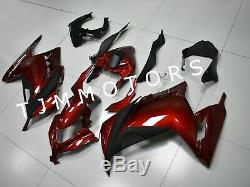For NINJA300 13-17 ABS Injection Mold Bodywork Fairing Kit Plastic Metallic Red