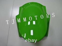 For NINJA ZX6R 13-17 ABS Injection Mold Bodywork Fairing Kit Plastic Black Green