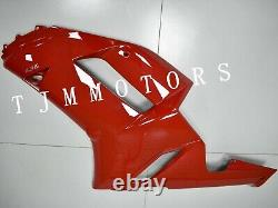 For NINJA ZX-6R 2007 2008 ABS Injection Mold Bodywork Fairing Kit Plastic Red