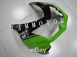 For Ninja250R 08-12 ABS Injection Mold Bodywork Fairing Kit Plastic Green Black