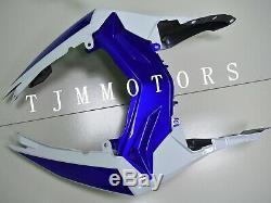 For Ninja300 13-17 ABS Injection Mold Bodywork Fairing Kit Plastic White Blue