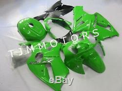 For Ninja ZX12R 2000-2001 ABS Injection Mold Bodywork Fairing Kit Plastic Green