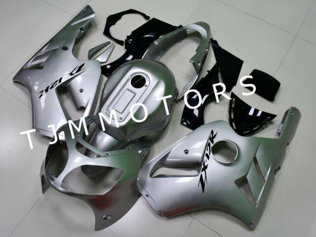 For Ninja Zx12r 2000-2001 Abs Injection Mold Bodywork Fairing Kit Plastic Silver