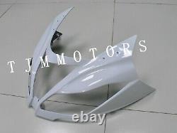 For Ninja ZX6R 13-17 ABS Injection Mold Bodywork Fairing Kit Plastic Black White