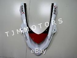 For Ninja ZX-10R 04-05 ABS Injection Mold Bodywork Fairing Kit Plastic Red White