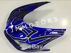 For Ninja ZX-14 06-11 ABS Injection Mold Bodywork Fairing Kit Plastic Blue Black