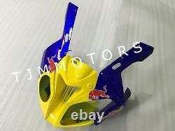 For S1000RR 2009-2014 ABS Injection Mold Bodywork Fairing Plastic Kit Blue RB