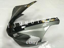 For YZF R1 00-01 ABS Injection Mold Bodywork Fairing Kit Plastic Black Grey Fiat